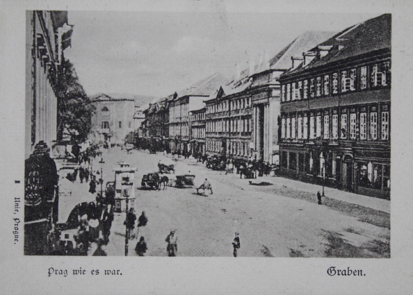 City Life「Prague As It Was. Graben. About 1900. Photograph By I. Unie.」:写真・画像(8)[壁紙.com]