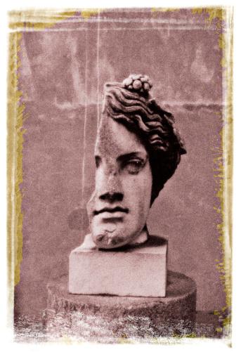 "Bust - Sculpture「""Capitolini Museum , sculpture of split head , Rome , Italy.""」:スマホ壁紙(15)"