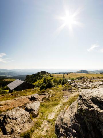 Bavarian Forest「Germany, View of Great Arber highest peak of Bavarian Bohemian mountain ridge」:スマホ壁紙(13)