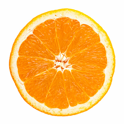 Orange - Fruit「Slice of orange」:スマホ壁紙(13)