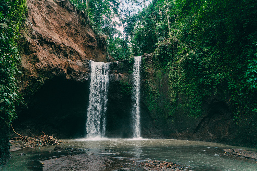 Waterfall「Tibumana waterfall in Bali, Indonesia」:スマホ壁紙(19)