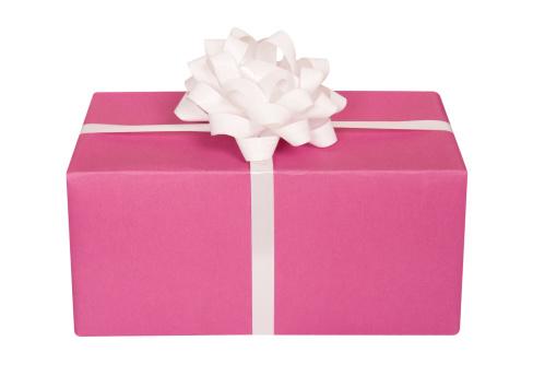 プレゼント「ピンクのリボンが、」:スマホ壁紙(11)