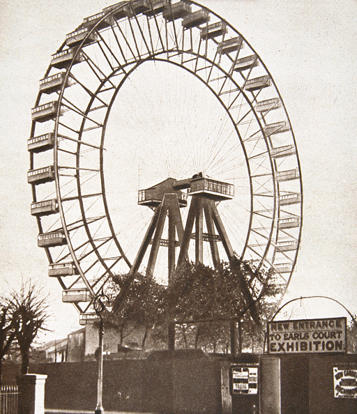 Amusement Park Ride「The Big Wheel Earls Court London circa 1900」:写真・画像(17)[壁紙.com]