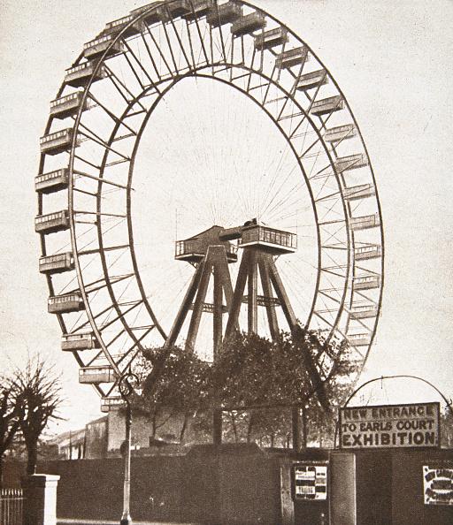 Ferris Wheel「The Big Wheel Earls Court London circa 1900」:写真・画像(8)[壁紙.com]