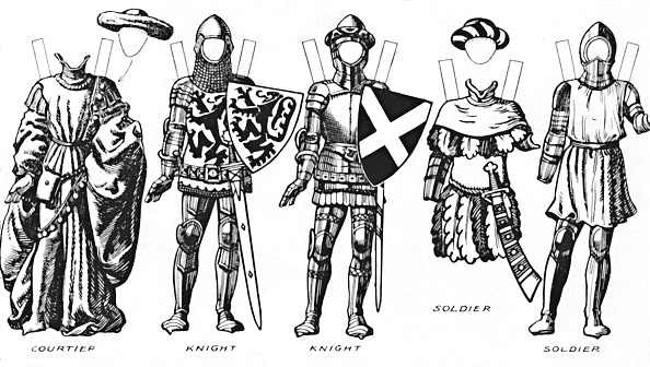 Circa 15th Century「The Great Gallery Of Historic Costume: How People Dressed In Henry Ivs Reign C」:写真・画像(2)[壁紙.com]