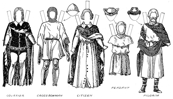 Circa 14th Century「The Great Gallery Of British Costume: Dress Worn In Edward The Thirds Reign C」:写真・画像(19)[壁紙.com]