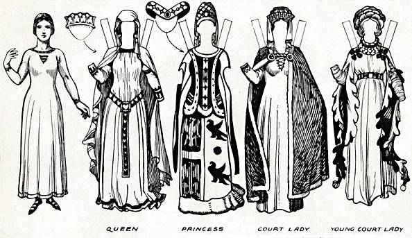 Clipping Path「The Great Gallery Of British Costume: Dress Worn In Edward The Thirds Reign C」:写真・画像(18)[壁紙.com]