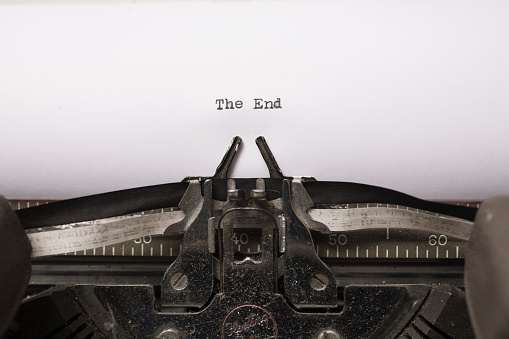 Typing「The End, typewriter」:スマホ壁紙(14)