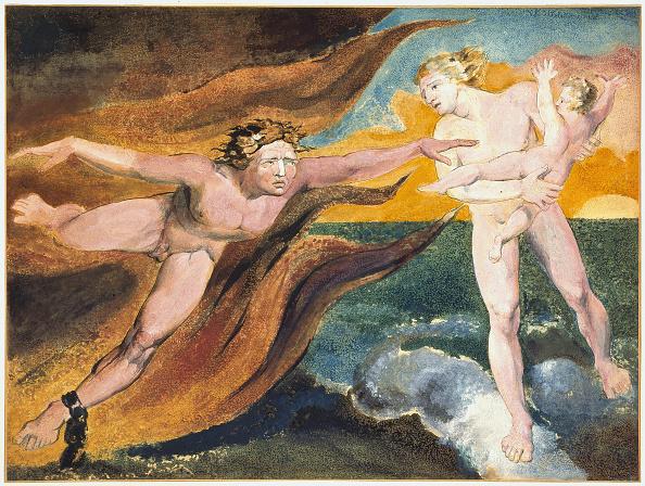 Evil「The Good and Evil Angels Struggling for Possession of a Child, 1795」:写真・画像(10)[壁紙.com]
