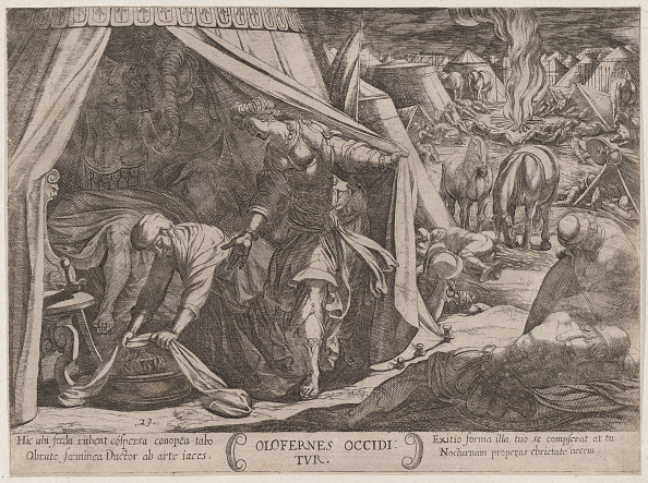 Etching「Plate 23: Judith And Holofernes」:写真・画像(4)[壁紙.com]