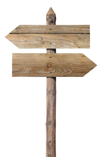 Wooden Post「Wooden signs on white」:スマホ壁紙(11)