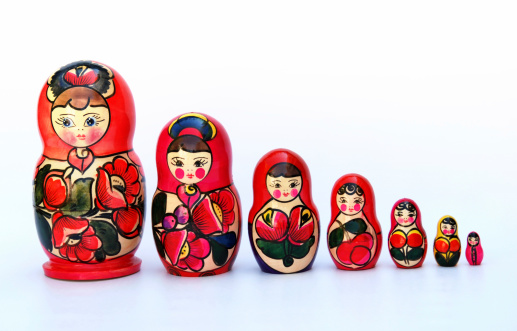 Doll「Russian Nesting Dolls also known as Babushkas」:スマホ壁紙(7)