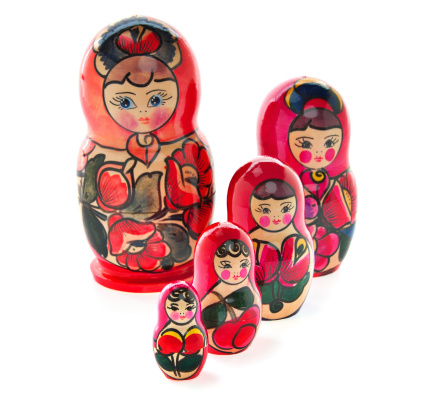 Doll「Russian Nesting Dolls also known as Babushkas」:スマホ壁紙(15)