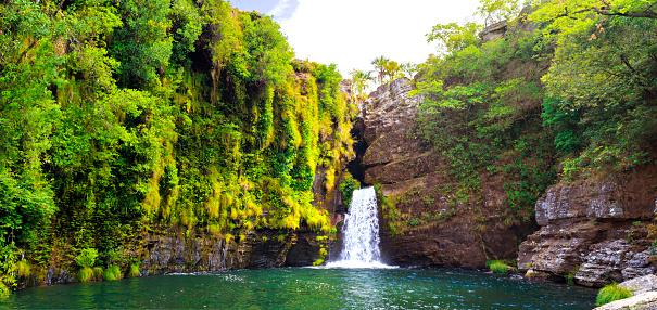 Lagoon「Cachoeira do Rei do Prata - Cavalvante, Goiás - Chapada dos Veadeiros」:スマホ壁紙(1)