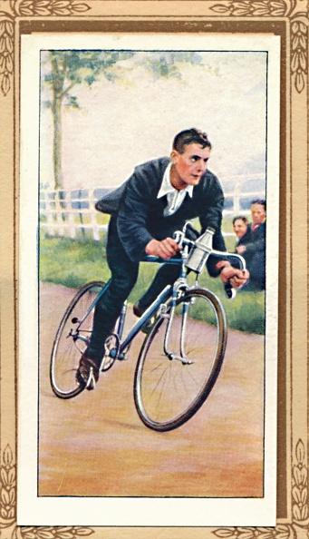 Cigarette Card「Road Time Trial Position」:写真・画像(19)[壁紙.com]
