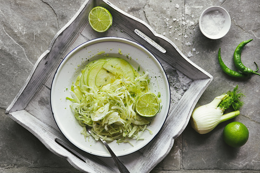 Fennel「Coleslaw with cabbage, apple and fennel」:スマホ壁紙(13)
