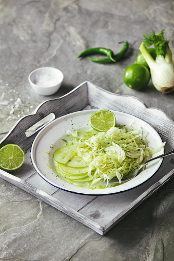 Fennel「Coleslaw with cabbage, apple and fennel」:スマホ壁紙(0)