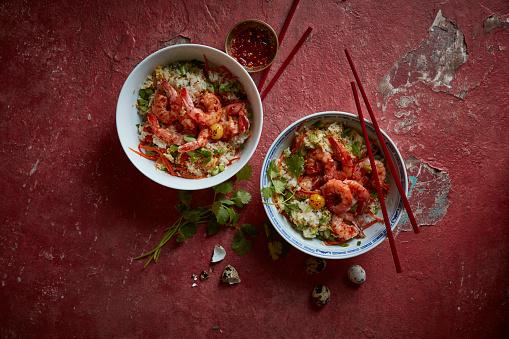 Vietnamese Culture「Vietnamese fried rice and shrimp」:スマホ壁紙(17)