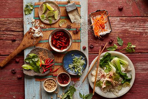 Vietnamese Culture「Vietnamese chicken and rice」:スマホ壁紙(2)