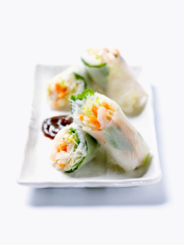 Spring Roll「Vietnamese Shrimp Rice Paper Rolls」:スマホ壁紙(11)