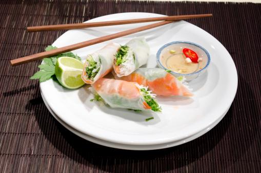Spring Roll「Vietnamese Mango Rice Paper Rolls」:スマホ壁紙(17)
