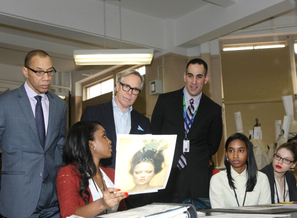 Copy Space「Tommy Hilfiger And Chancellor Walcott Kick Off Fashion Week By Going Back To School」:写真・画像(10)[壁紙.com]