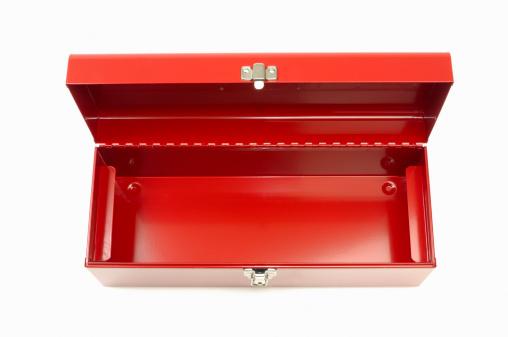Blank「Empty red toolbox」:スマホ壁紙(10)