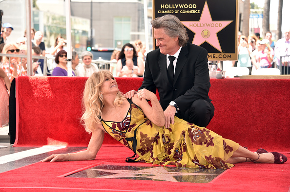 Goldie Hawn「Goldie Hawn And Kurt Russell Honored With Double Star Ceremony On The Hollywood Walk Of Fame」:写真・画像(9)[壁紙.com]