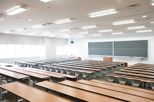 アーカイブ画像「Empty lecture hall」:スマホ壁紙(8)