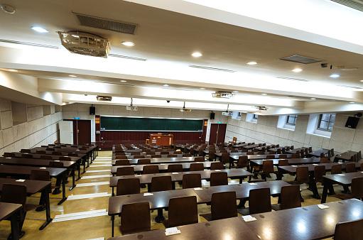 Workshop「Empty lecture hall during coronavirus pandemic」:スマホ壁紙(4)