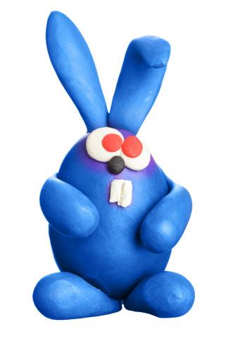 Easter Bunny「Plasticine easter rabbit」:スマホ壁紙(7)