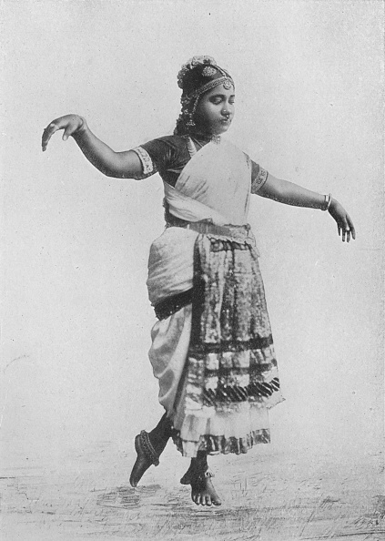 Sri Lanka「'Nauch Dancing Girl', c1890,」:写真・画像(8)[壁紙.com]