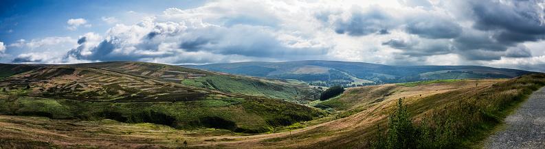 Goyt Valley「Goyt Valley Panorama」:スマホ壁紙(0)