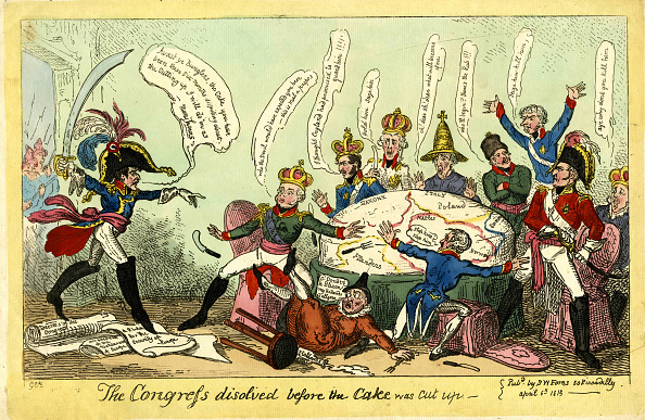 Caricature「The Congress Dissolved Before The Cake Was Cut Up」:写真・画像(0)[壁紙.com]