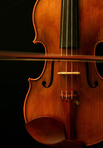 Violin「Violin with Moving Bow and Vibrating String」:スマホ壁紙(3)