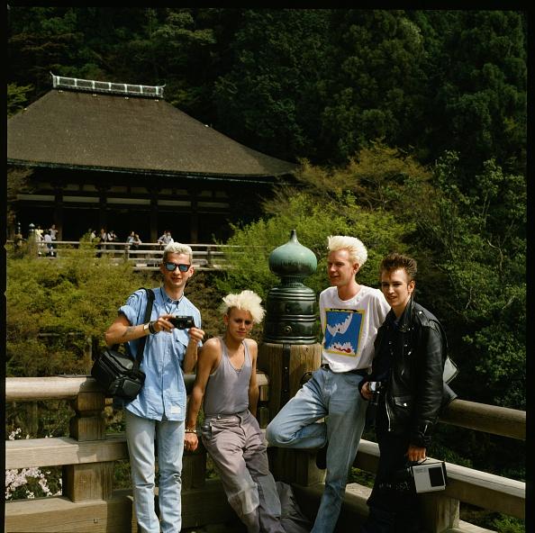 京都府「Depeche Mode Group Shot At Kiyomizu Temple In Higashiyama Kyoto」:写真・画像(0)[壁紙.com]