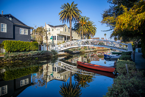 City Of Los Angeles「Venice Canals」:スマホ壁紙(7)