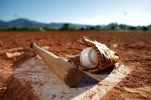 bat「Baseball game」:スマホ壁紙(1)