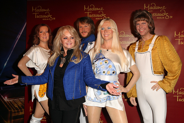 アグネタ フォルツコッグ「Bonnie Tyler Unveils ABBA Wax Figures」:写真・画像(14)[壁紙.com]