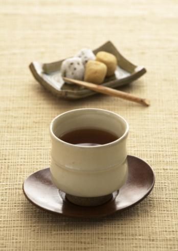 Wagashi「Roasted green tea」:スマホ壁紙(8)