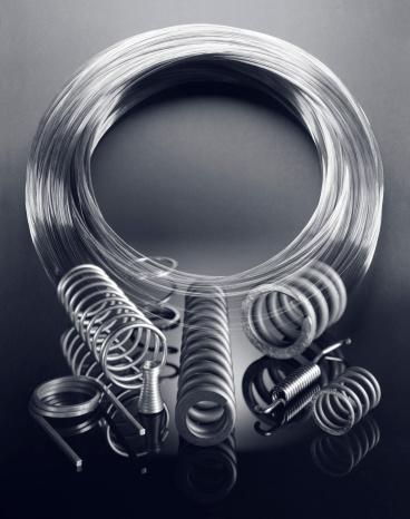 Multiple Exposure「Various Sizes of Steel Wire, Double Exposure」:スマホ壁紙(2)