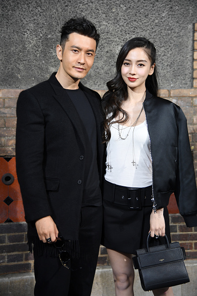 Angelababy「Givenchy : Front Row  - Paris Fashion Week - Menswear Spring/Summer 2017」:写真・画像(19)[壁紙.com]