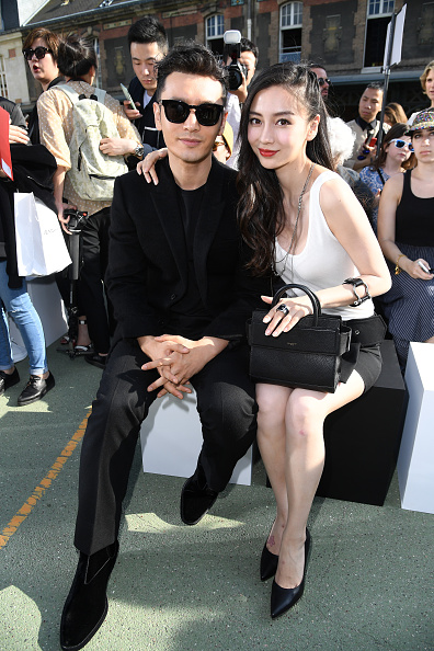 Angelababy「Givenchy : Front Row  - Paris Fashion Week - Menswear Spring/Summer 2017」:写真・画像(12)[壁紙.com]