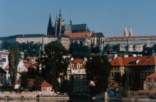 St Vitus's Cathedral「Prague Castle and Cathedral」:スマホ壁紙(11)