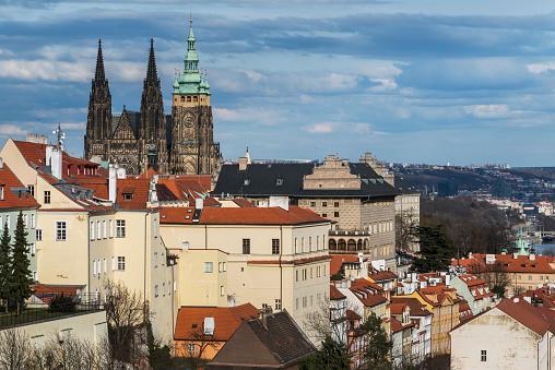 St Vitus's Cathedral「Prague Castle」:スマホ壁紙(11)