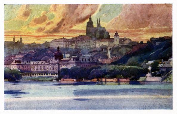 City Life「Prague: Castle and Straka's Academy」:写真・画像(13)[壁紙.com]
