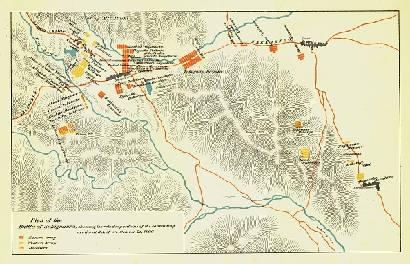 Continent - Geographic Area「Plan Of The Battle Of Sekigahara」:写真・画像(3)[壁紙.com]