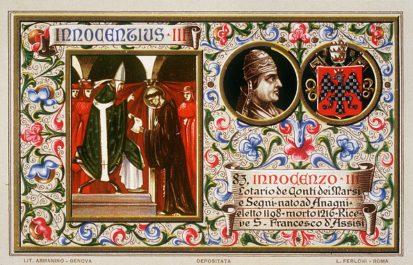 記章「SAN FRANCESCO TO INNOCENT III」:写真・画像(14)[壁紙.com]