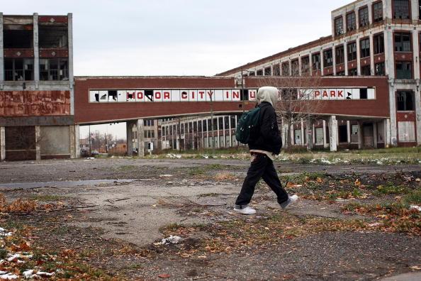 People「Detroit Area Economy Worsens As Big Three Automakers Face Dire Crisis」:写真・画像(9)[壁紙.com]