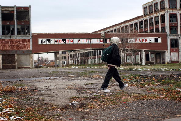 Poverty「Detroit Area Economy Worsens As Big Three Automakers Face Dire Crisis」:写真・画像(13)[壁紙.com]
